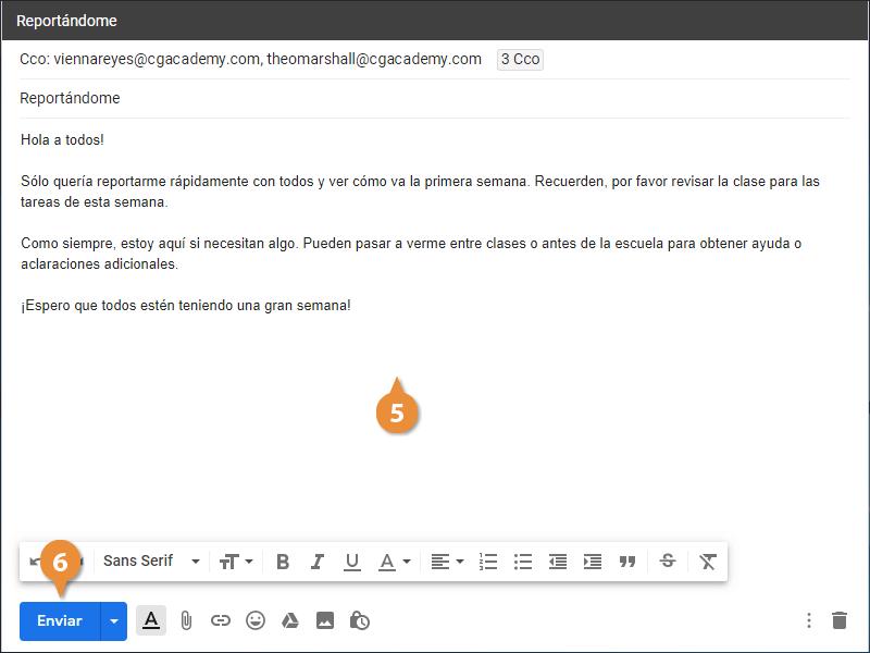 Comunicación con el Estudiante