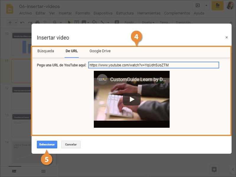 Insertar Video