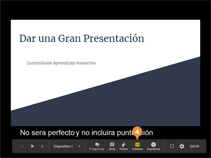 Utilizar las Herramientas de Presentación