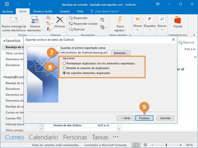 Exportar Información