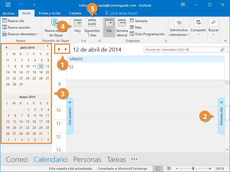 Ver el Calendario