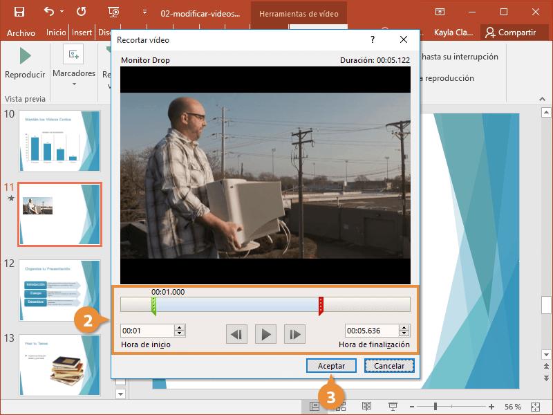 Modificar Videos