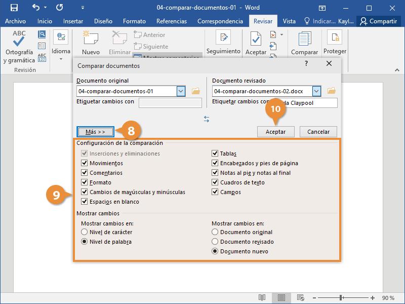 Comparar Documentos