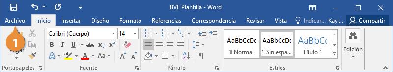Plantillas para Documentos de Word