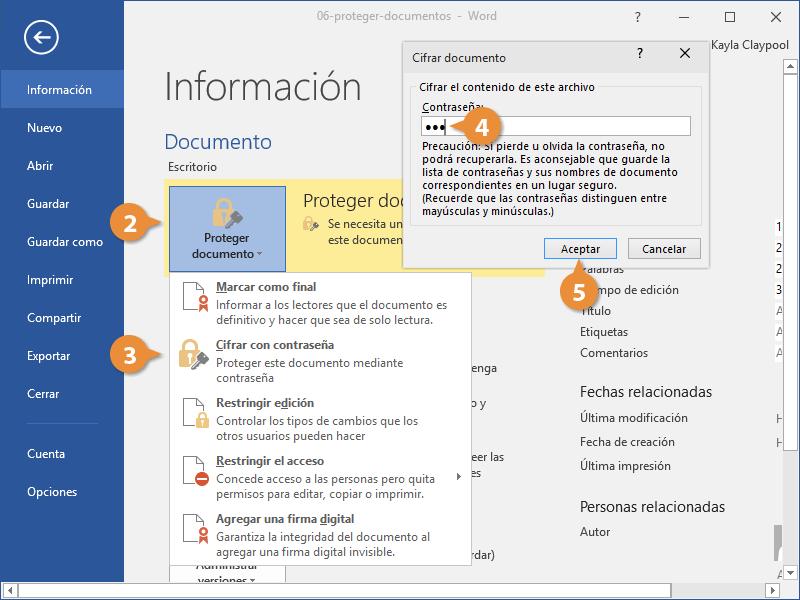 Proteger Documentos