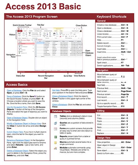 Access 2013 Basic