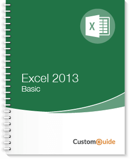 Excel 2013 Basic Courseware