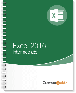 Excel 2016 Intermediate Courseware
