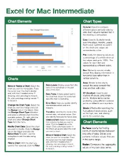 Excel 2016 Mac Intermediate