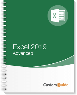 Excel 2019 Advanced Courseware