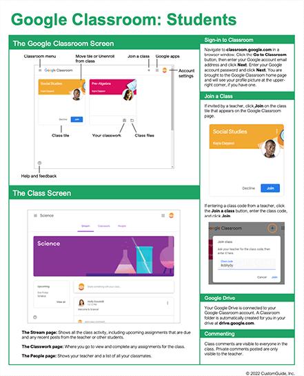 Google Classroom: Students