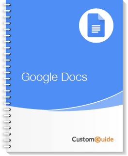 Google Docs Courseware