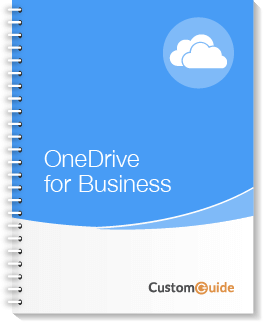 OneDrive for Business Courseware