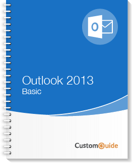 Outlook 2013 Basic Courseware
