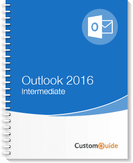 Outlook 2016 Intermediate Courseware