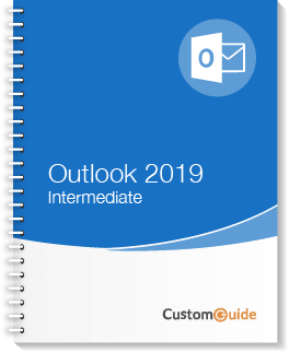 Outlook 2019 Intermediate Courseware
