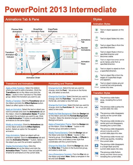 PowerPoint 2013 Intermediate