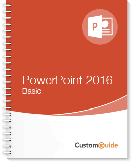 PowerPoint 2016 Basic Courseware