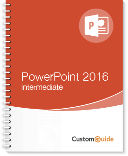 PowerPoint 2016 Intermediate Courseware