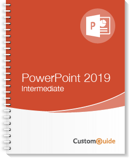 PowerPoint 2019 Intermediate Courseware