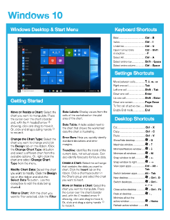 Windows 10 Quick Reference
