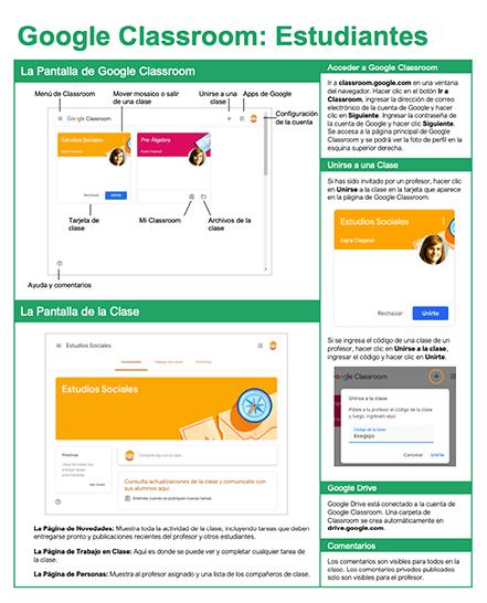 Google Classroom: Estudiantes