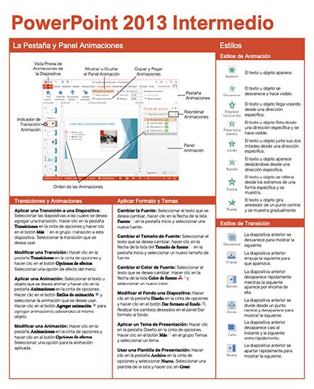 PowerPoint 2013 Intermedio