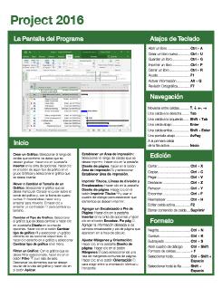 Project 2016 Espanol