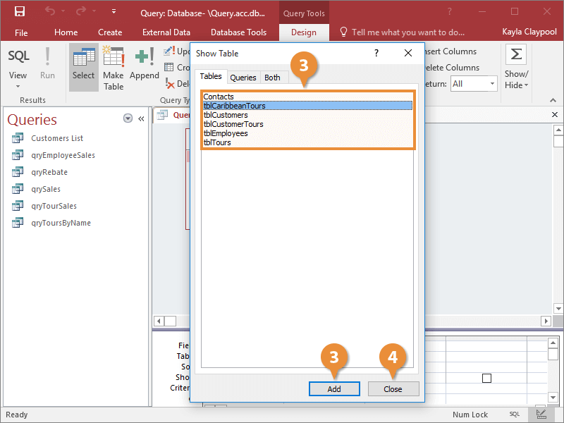 Create an Append Query