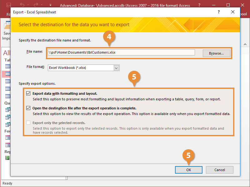 Export Information