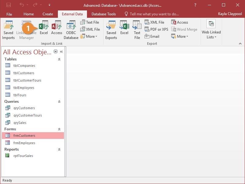 Import Excel Data