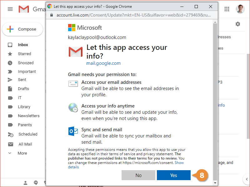 Add Other Email Accounts to Gmail
