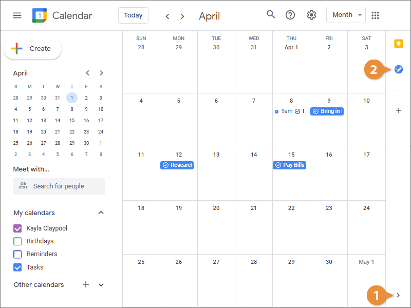 Create a New Task List