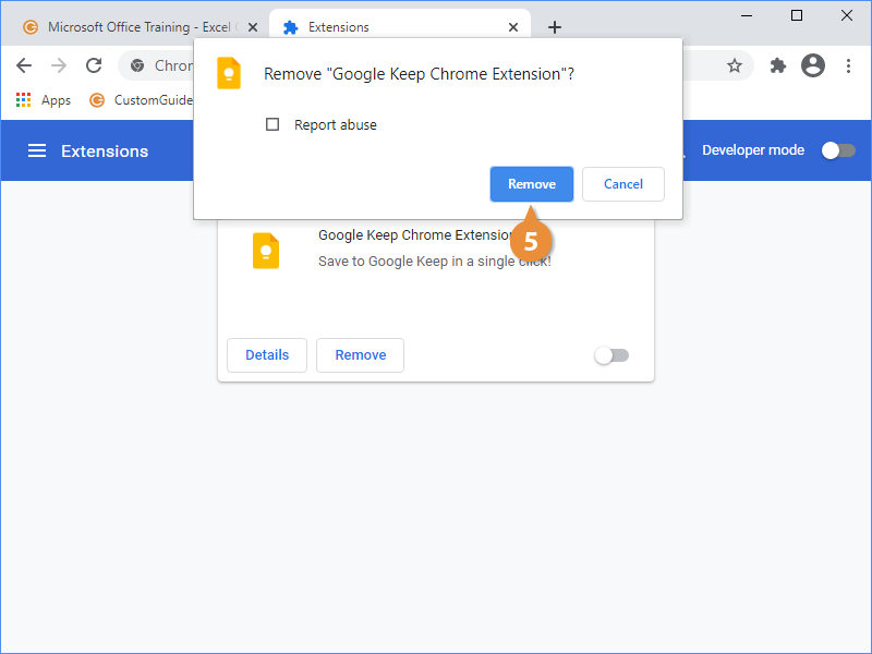Access the Chrome Web Store
