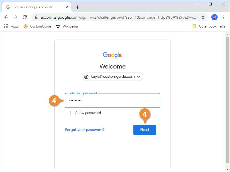 Enable Google Account Sync