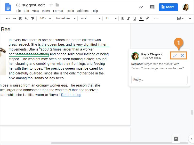Suggest Edits