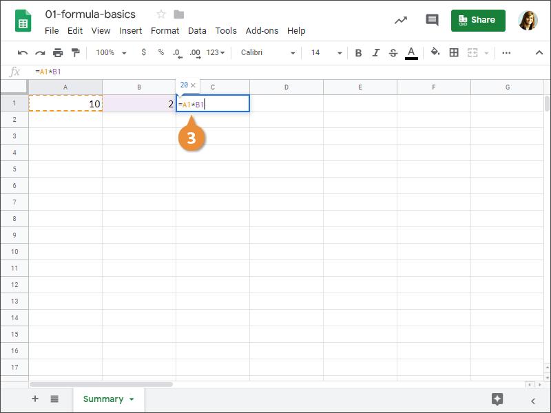 Google sheets recalculate