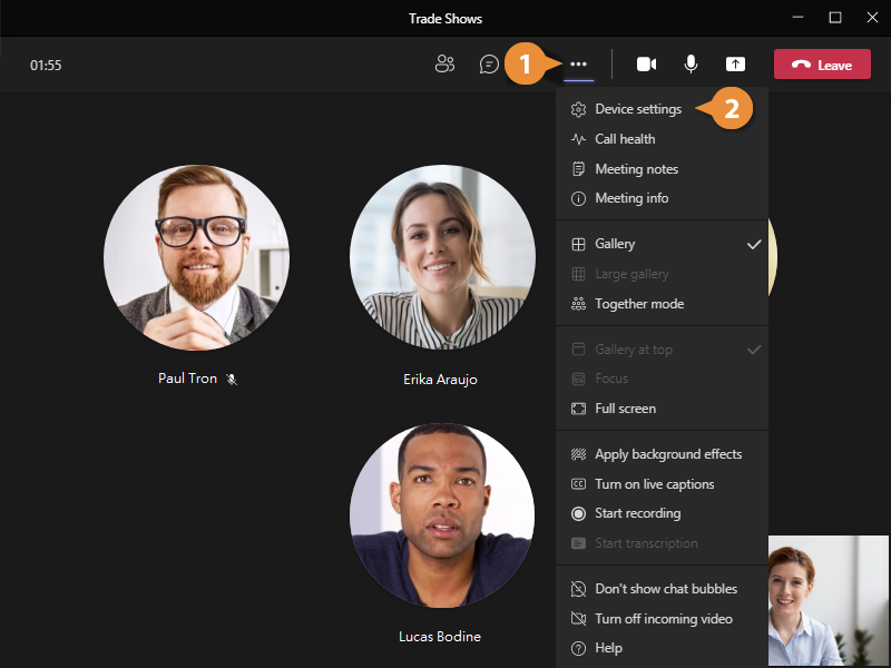 Manage Audio and Video Settings
