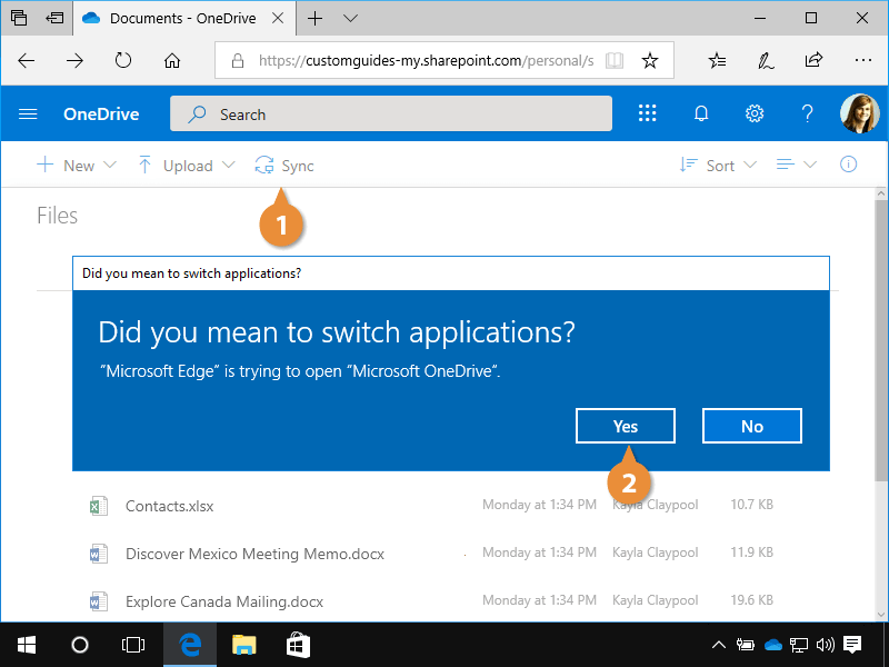 Sync With your Computer