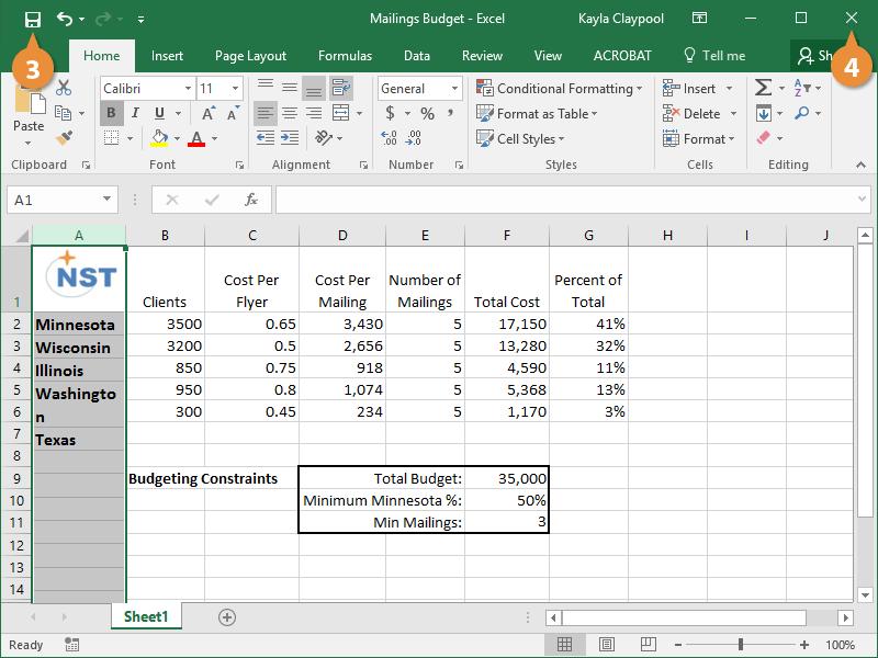 Edit a Spreadsheet