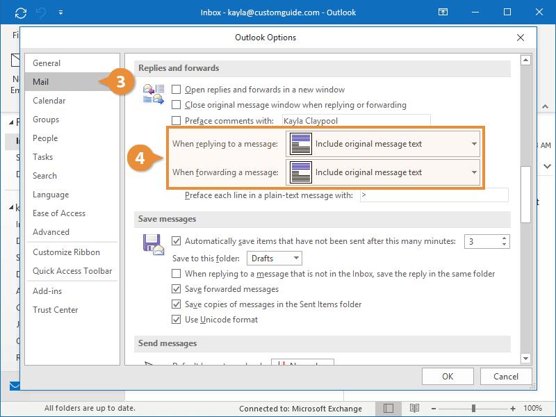 Customize Response Formatting