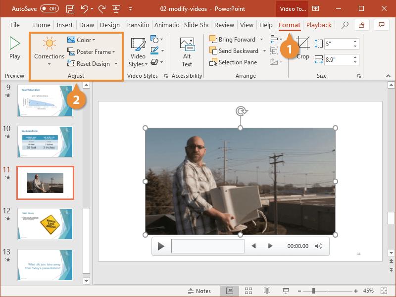 Modify Videos