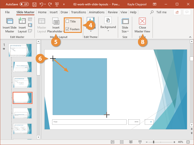 Work With Slide Layouts