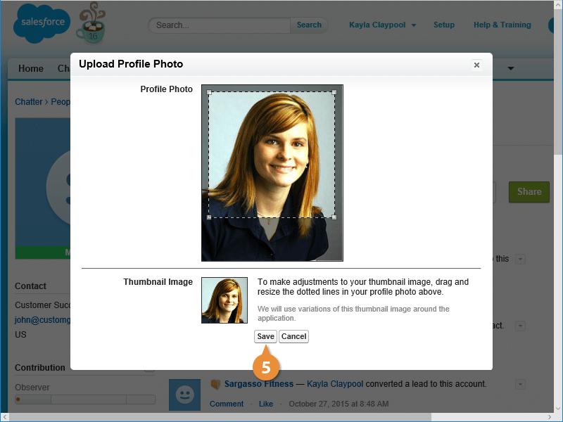 Add a Profile Picture