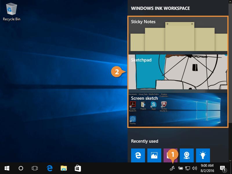 Windows Ink.