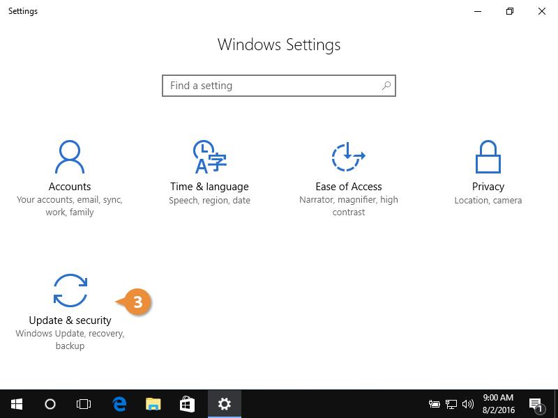Windows update.