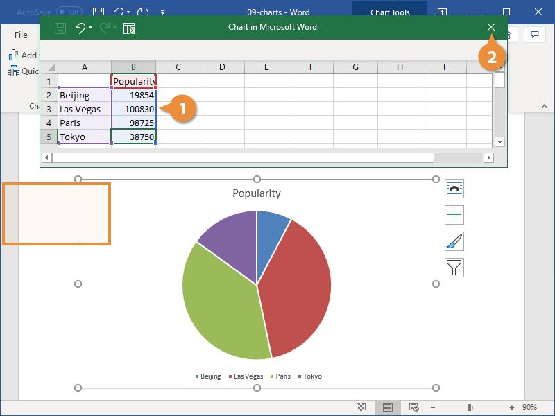 Add Chart Data
