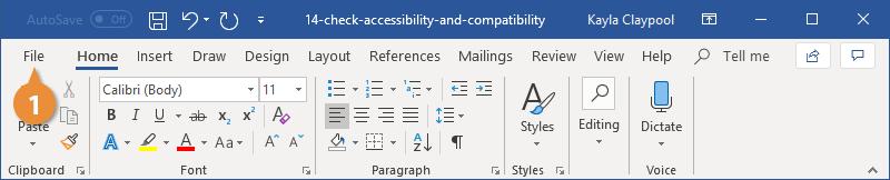 Check Accessibility