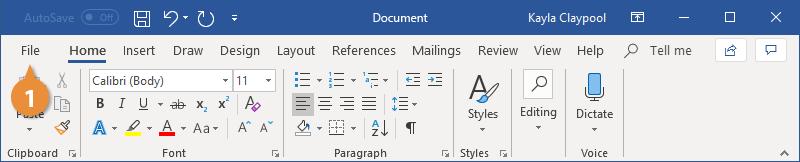 Create a Blank Document