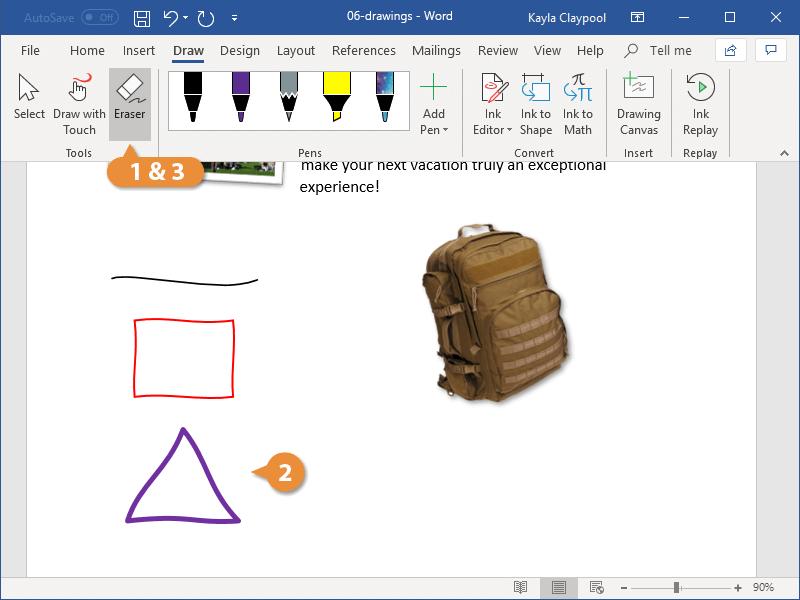Erase a Drawing